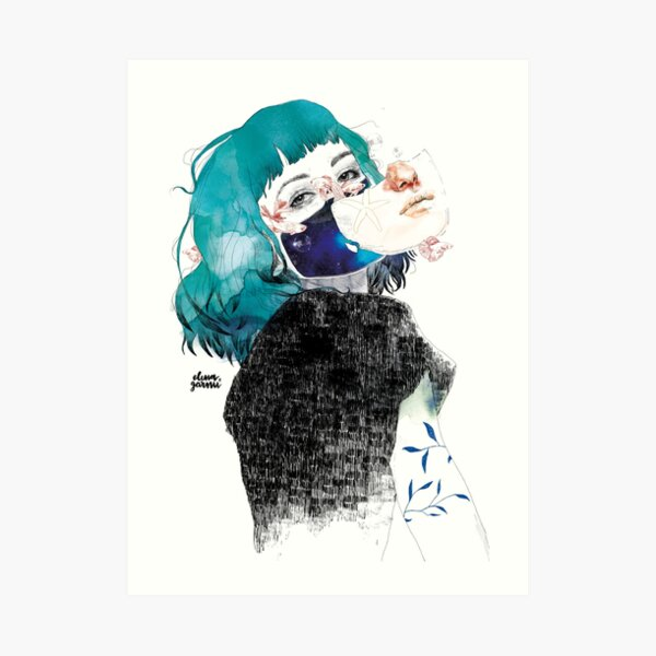 Si me callas by elenagarnu Lámina artística