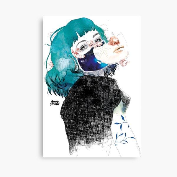If you shut me up by elenagarnu Canvas Print