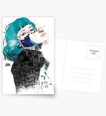 If you shut me up by elenagarnu Postcards