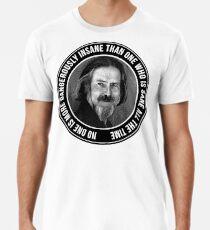 Alan Engraving Tribute Men's Premium T-Shirt