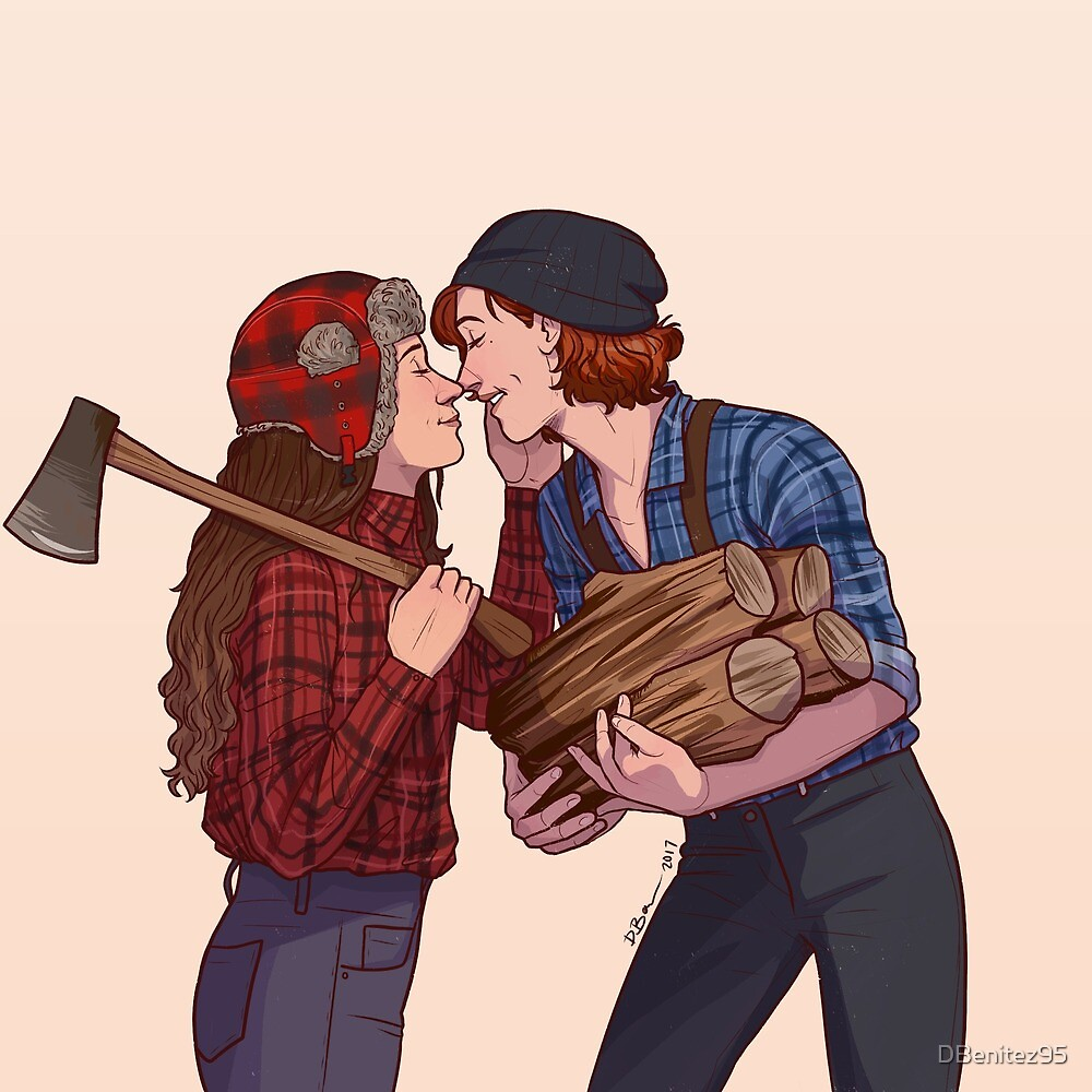 lumber girlfriends by Diana Benitez