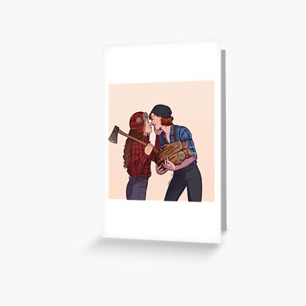 lumber girlfriends Greeting Card