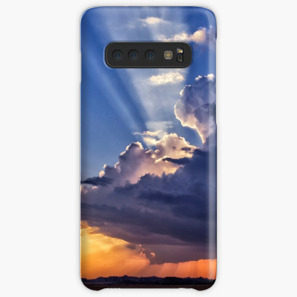Stormy Weather - Badlands National Park Case & Skin for Samsung Galaxy
