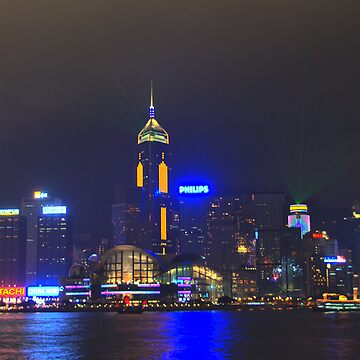 Hong Kong Symphony of Lights by agurney