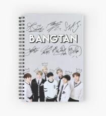 [SIGNATURE] BTS Kings Edit Spiral Notebook