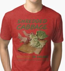 Shredded Cabbage Tri-blend T-Shirt