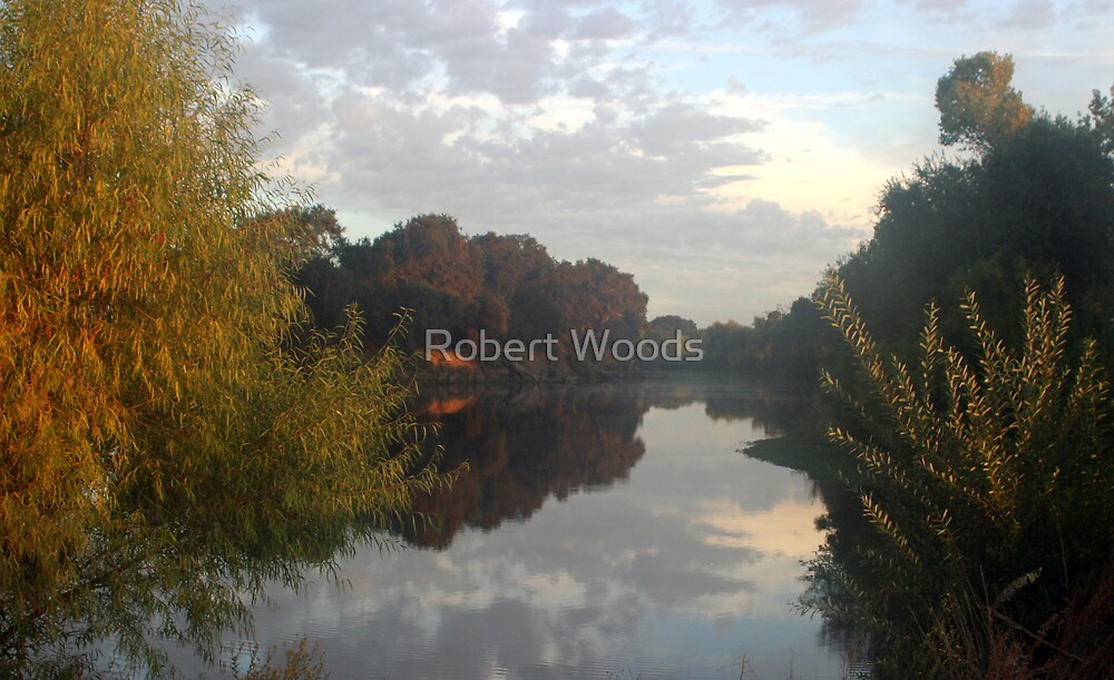 Pastel River by Robert Woods