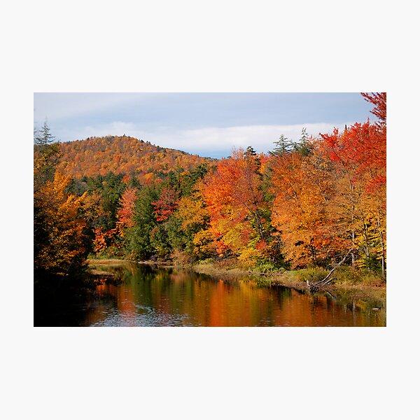 Indian Lake Fall Photographic Print
