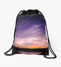 Painted Skies X 01 Drawstring Bag
