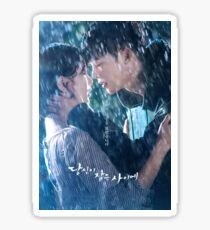 Jung Jae-Chan and Nam Hong-Joo - While You Were Sleeping Sticker