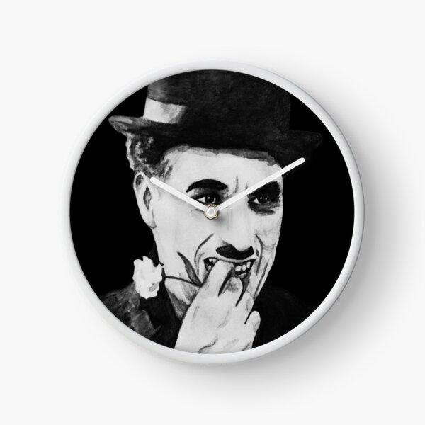 Chaplin white Clock