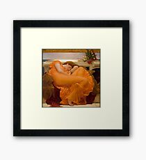 Flaming June - Frederic Lord Leighton  Framed Print