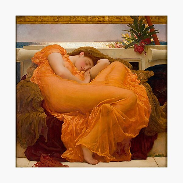 Flaming June - Frederic Lord Leighton  Photographic Print