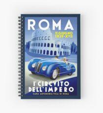"""ROMA VINTAGE GRAND PRIX"" Auto-Renndruck Spiralblock"