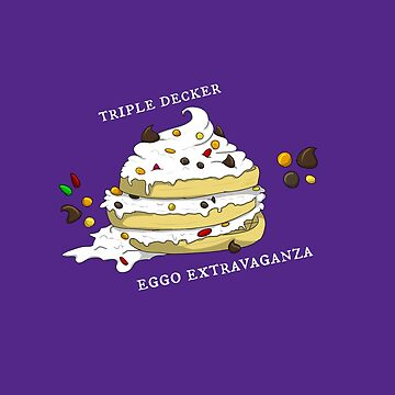 The Triple Decker Eggo Extravaganza by CanidSpirit