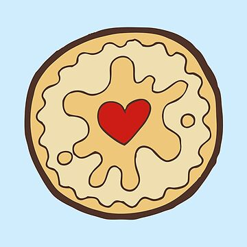 Jammy Dodger British Biscuit by evannave