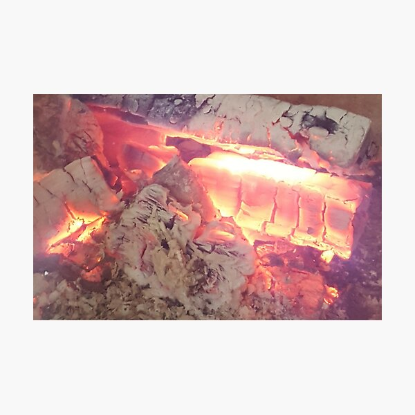 Fire pit Photographic Print