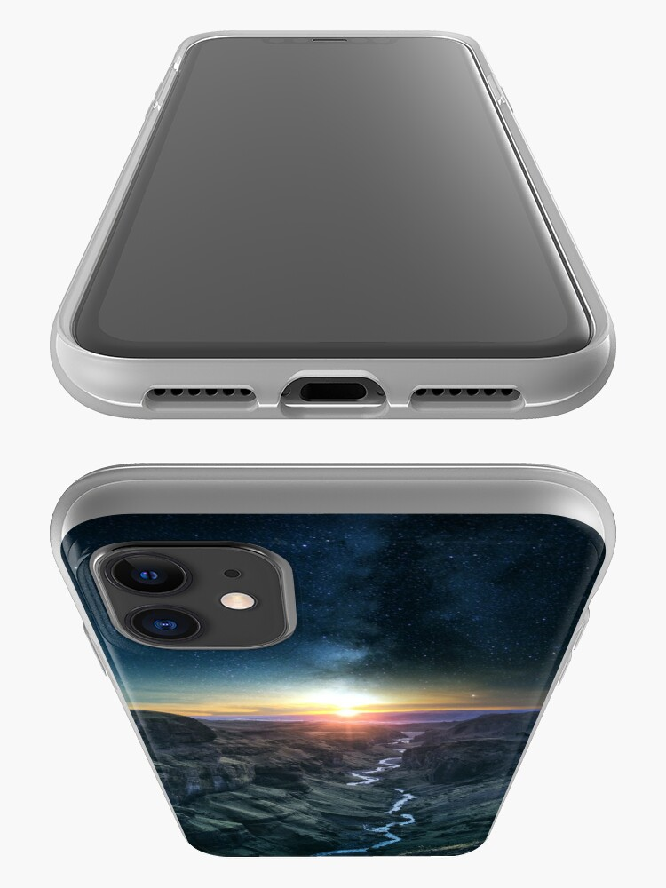 Alternate view of Evening Sky iPhone Case & Cover