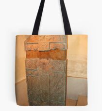 Pictish Carved Standing Stone side 1 Tote Bag