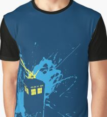 TARDIS Splash Graphic T-Shirt