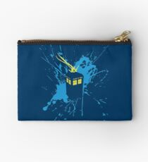 TARDIS Splash Studio Pouch