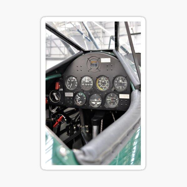 Stearman Cockpit Sticker