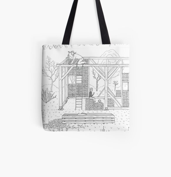 beegarden.works 007 All Over Print Tote Bag