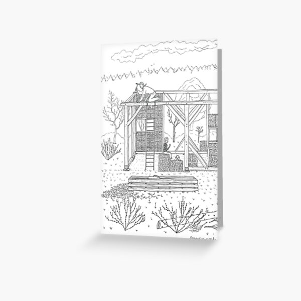 beegarden.works 007 Greeting Card