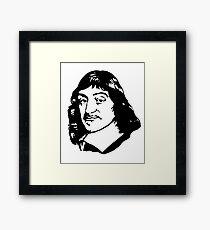 Rene Descartes  Framed Print