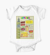 LONDRES : London Travel and Tourism Advertising Print Kids Clothes
