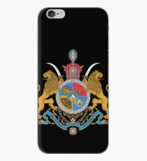 Imperial Coat of Arms of Iran under the Pahlavi Dynasty iPhone Case