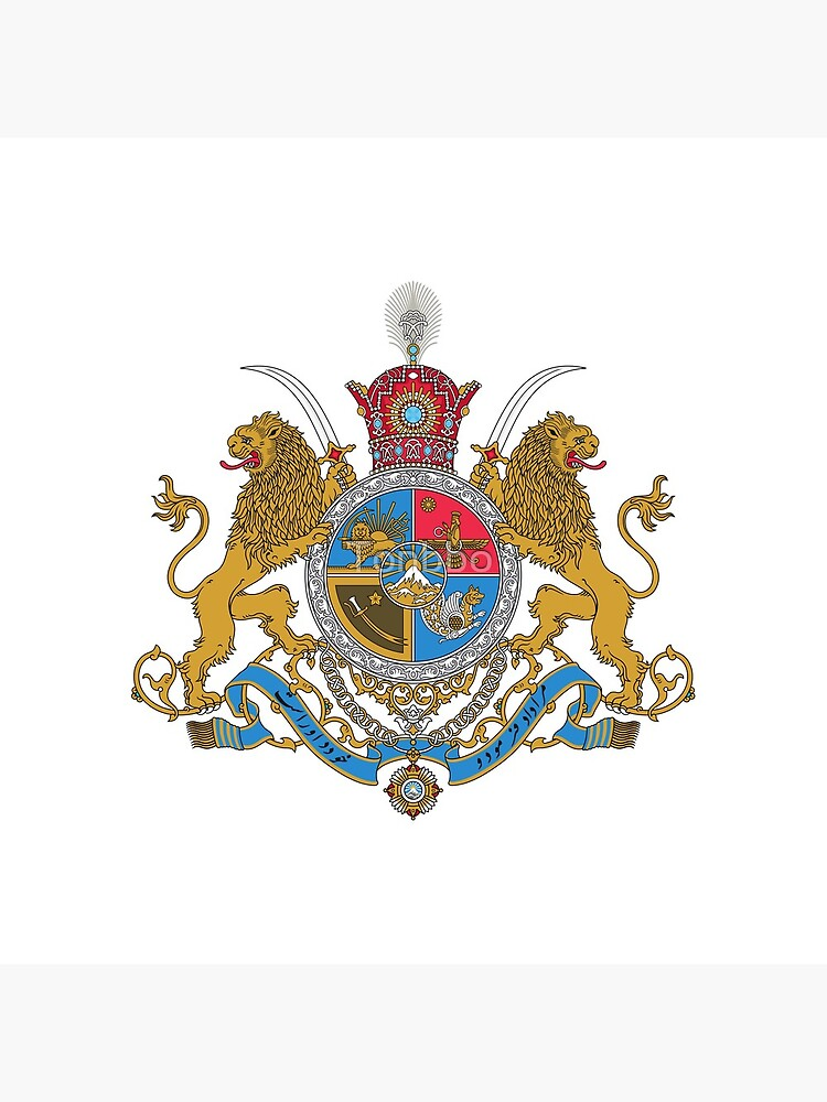 Imperial Coat of Arms of Iran under the Pahlavi Dynasty by Tonbbo