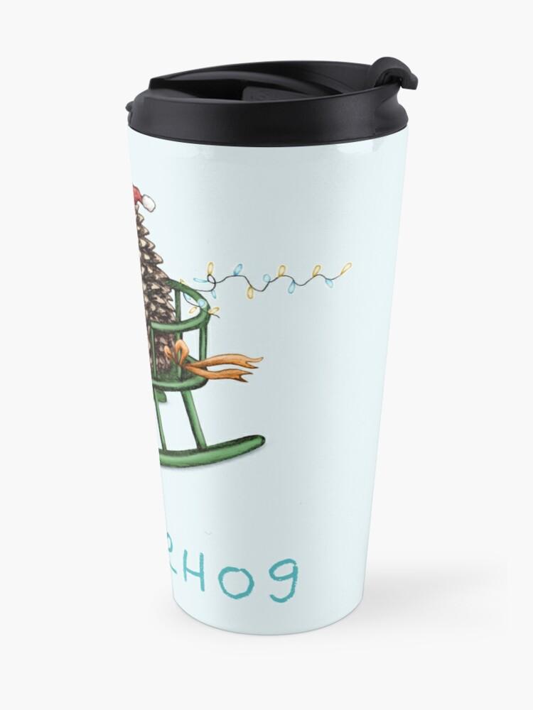 Alternate view of Sledgehog Travel Mug