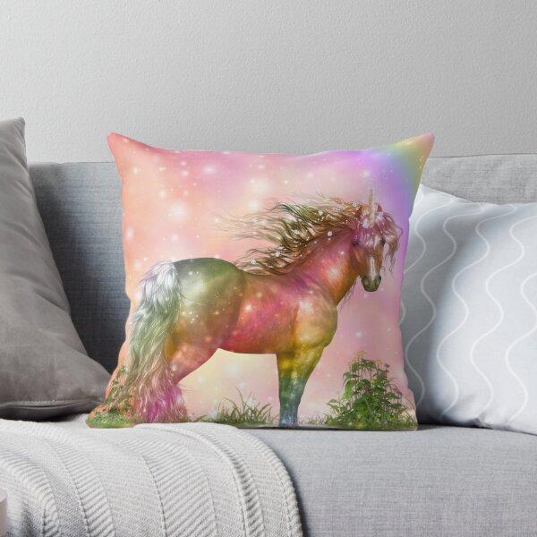 Unicorn - Over the Rainbow Dekokissen