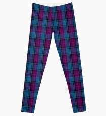 00245 The Joker Tartan  Leggings