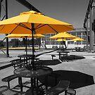 Yellow Umbrellas by Rodney Lee Williams