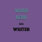 Word Nerd aka Writer by jewelsee
