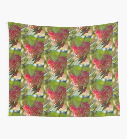 Red Eucalypt Wall Tapestry