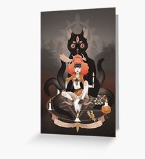 Night of witches Greeting Card