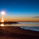 St Kilda Lighthouse  by Christine Wilson