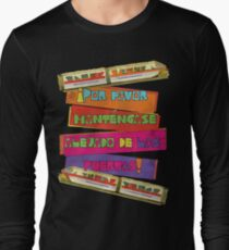 WDW spanish Monorail Long Sleeve T-Shirt