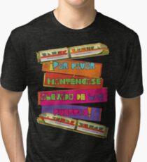 WDW spanish Monorail Tri-blend T-Shirt