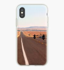 Vinilo o funda para iPhone Bikers en la ruta 66