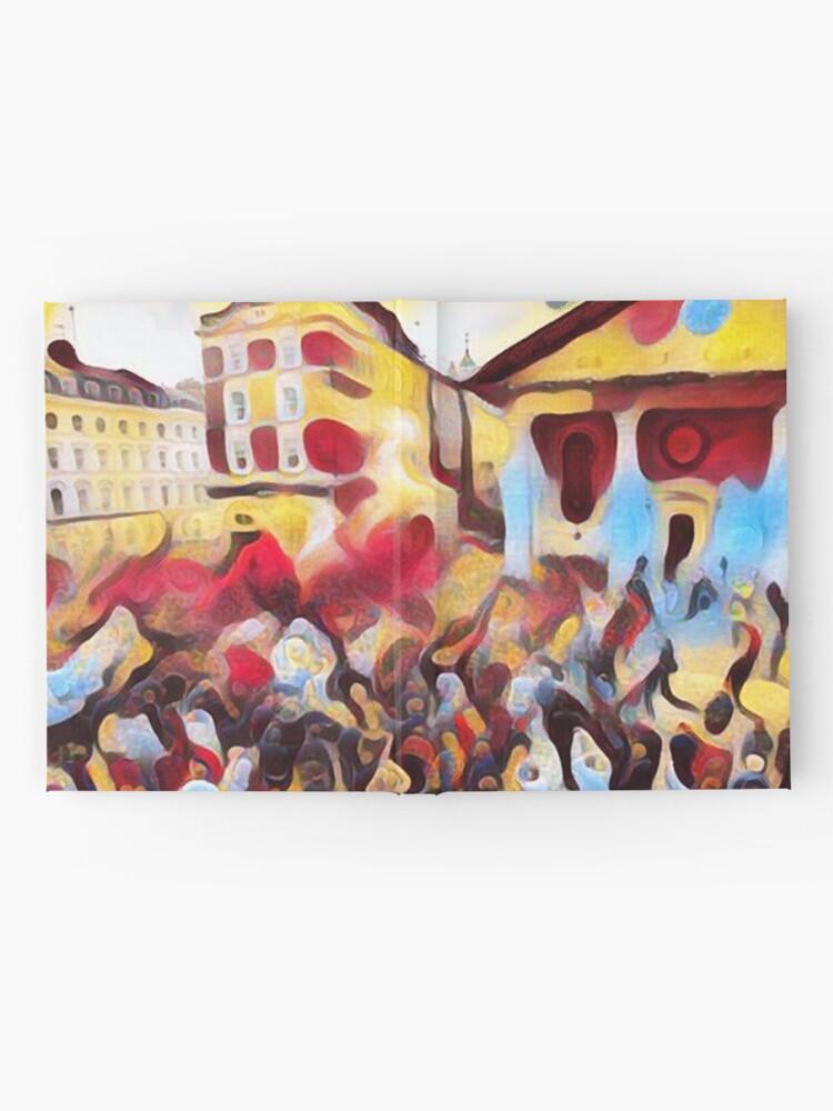 Vista alternativa de Cuaderno de tapa dura Desfile del Palacio de Picaso