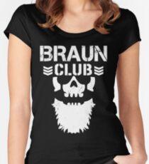 Braun Club T-Shirt Women's Fitted Scoop T-Shirt