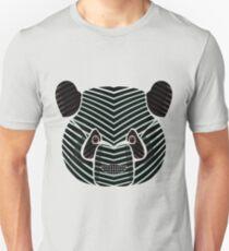 Panda Line Art Face Unisex T-Shirt