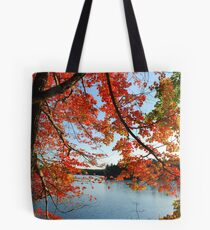 Red Arch Tote Bag