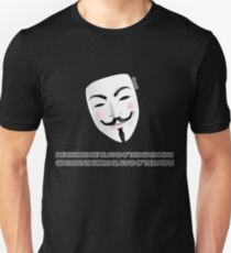 People should not be afraid of their governments - stroke version Unisex T-Shirt
