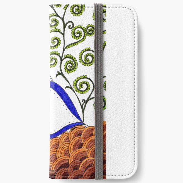 Love was born at Christmas- ArtResponses iPhone Wallet
