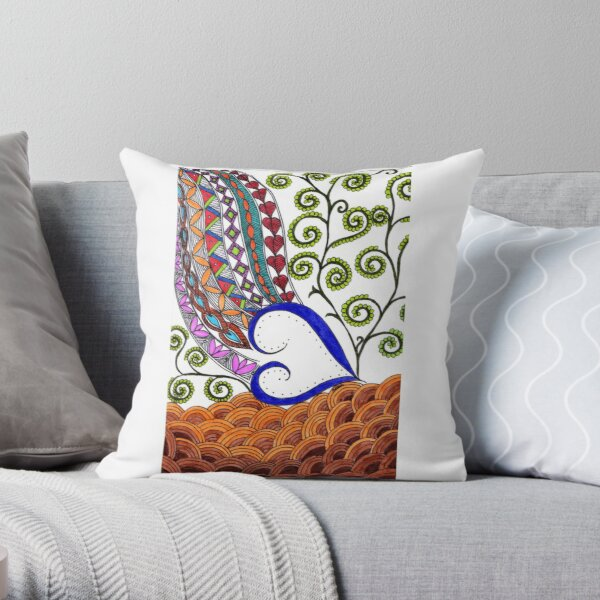 Love was born at Christmas- ArtResponses Throw Pillow